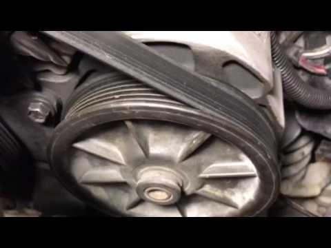 Drive belt on  91 Ford Ranger 2.3