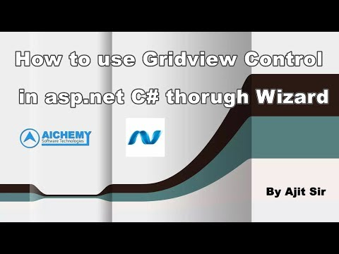 How to Design Gridview in Asp.net C# through Wizard By Ajit Kumar Singh