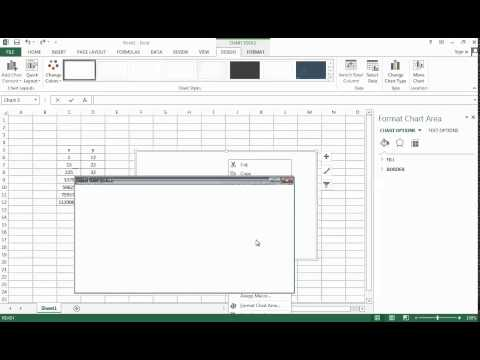 how to make a logarithmic chart in excel