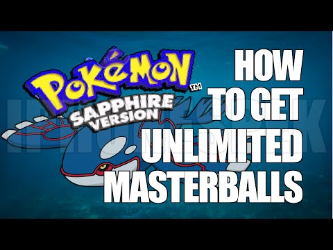 How to get Unlimited Masterballs Pokemon Sapphire GBA4IOS iOS 11 10 9 iPhone iPad