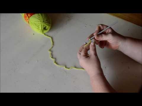 Foundation chain - Crochet - Tutorial - English
