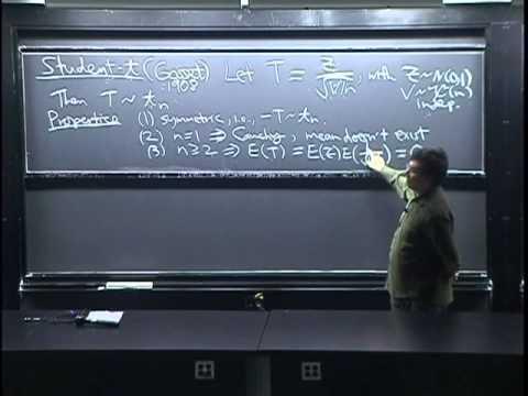 Lecture 30: Chi-Square, Student-t, Multivariate Normal | Statistics 110