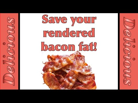How And Why To Save Your Bacon Grease