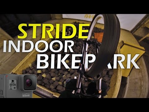Stride Indoor Bike Park / Gopro hero 6 Test | DROP