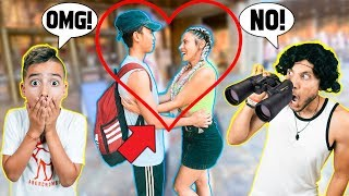 Download SPYING On My WIFE In PUBLIC! **CAUGHT HER** | The Royalty Family Video