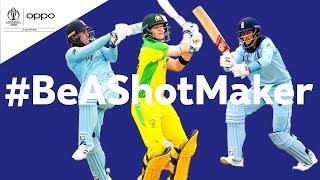 Oppo #BeAShotMaker   Australia vs England - Shot of the Day   ICC Cricket World Cup 2019
