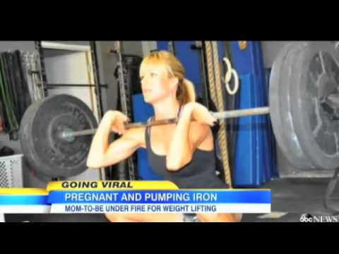 My Wife Defends Weight Lifting During Pregnancy and Living Young on Good Morning America