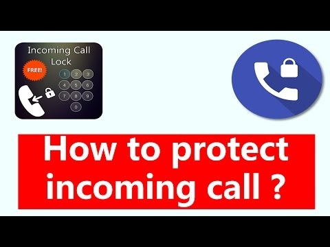 How to protect incoming call ? 📲 || by technical naresh