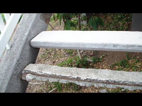 Casting Concrete Stairs Construction DIY