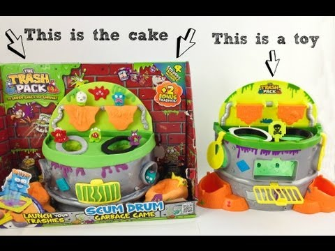trash pack interactive play cake