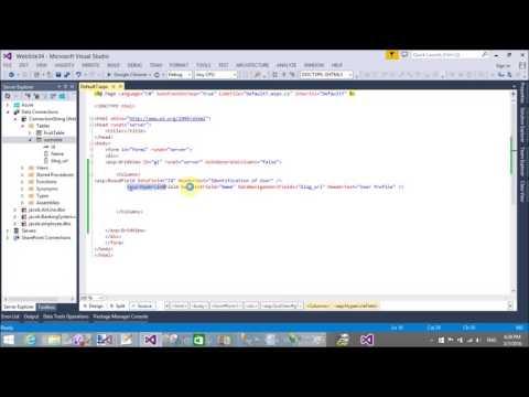 GridView HyperlinkField Example in ASP.NET C#