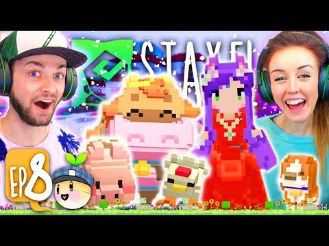 ❄️SAVING THE ANIMALS FROM A SNOW STORM!!!❄️(Staxel #8!🐷)