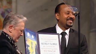 2019 Nobel Peace Prize Ceremony