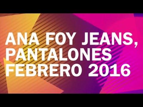 Jeans Almacen de Ropa Cali Bogotá Medellín Colombia para Dama Boutique Ana Foy SanSur Febrero 2016