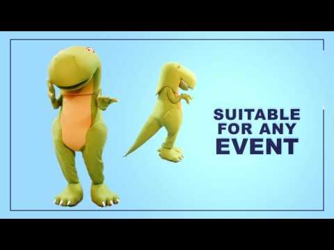 Dinosaur Mascot Adult Costume