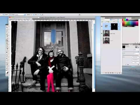 Photoshop CS4 Colorize a Black & White image