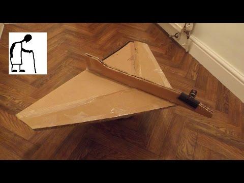 Cardboard Jet Glider Egg Carrier Part #1