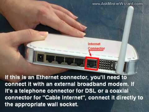 Setting Up a WiFi LAN theEASY Way, Part 1 of 2 : The Parts With Wires, by AskMisterWizard