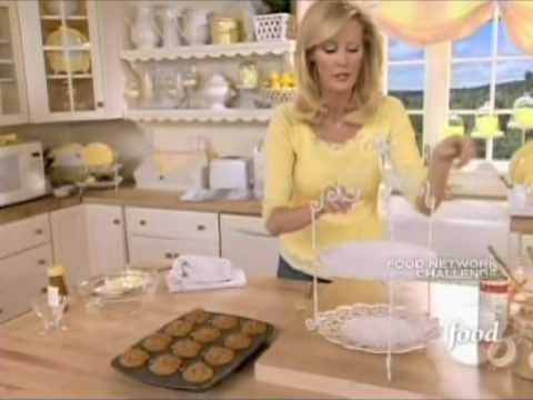 Sandra Lee - Carrot Coconut Muffins with Honey Butter