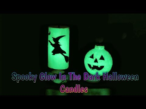 DIY Halloween Candle Making Tutorial With Special effect