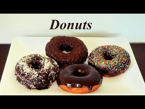 Donuts with Chocolate Glaze Recipe