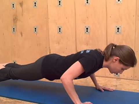 How to quickly build upper body strength by doing a reverse push up