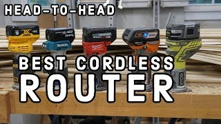 Best Cordless Router - Head To Head