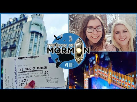 BARGAIN TICKETS AT THE BOOK OF MORMON!🎭 - London Vlog!