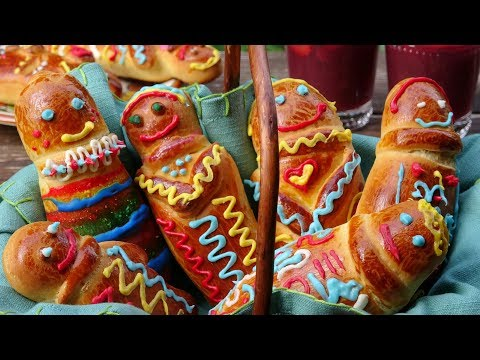 Receta de las Guaguas de Pan Ecuatorianas {Figuras de Pan}