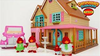¡Niños, aprendamos palabras comunes con Woodzeez Toy Dollhouse!