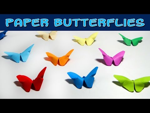 DIY Crafts - How to Make Origami Butterfly ( Very Easy )