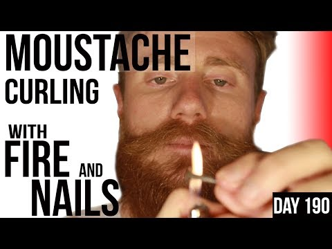How to Style, Shape & Curl your Moustache | 1800's Technique | How to | Patchy Beard Tips