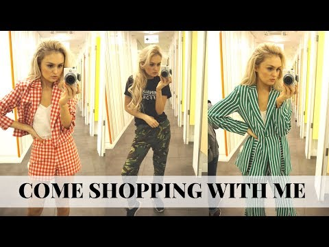 Come Shopping with Me // London Vlog // Topshop Haul