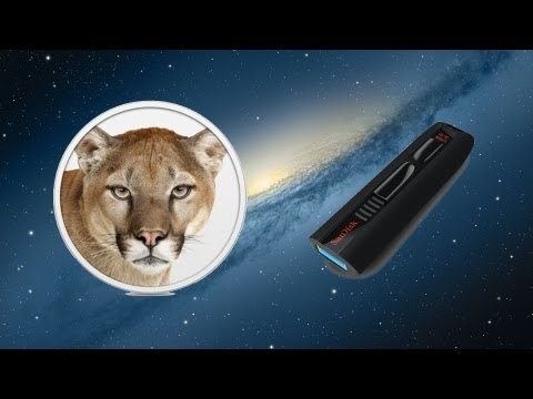 How to Make a Mountain Lion Install Drive or DVD