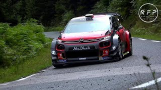 First SEBASTIEN LOEB Test Citroën C3 WRC 2017 [4K] Max Attack! by RFP