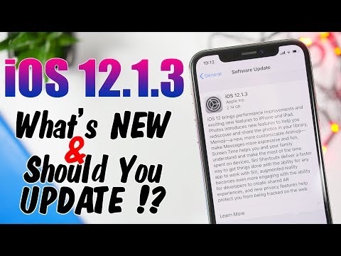 iOS 12.1.3 Final RELEASED - What's NEW & Should You UPDATE !?