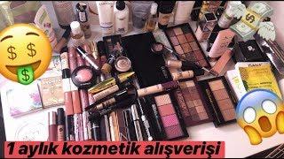 Download Aylık Makyaj / Kozmetik Alışverişim   Makeup Haul Video