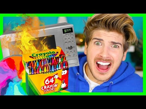 DON'T MICROWAVE CRAYONS!