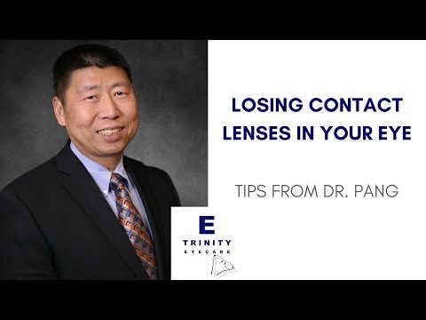 Can My Contact Go to the Back of My Eye? | Dr. Albert Pang