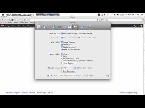 Clear Cookies on Safari- Mac