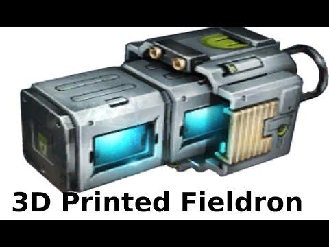 Warframe Fieldron 3D print