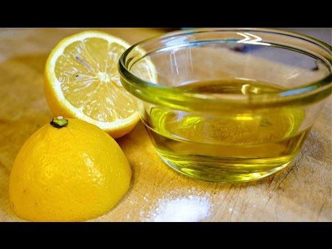 MIX LEMON AND OLIVE OIL AND DO WONDERS TO YOUR BODY
