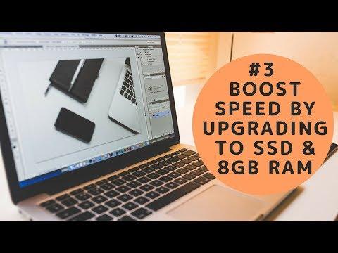 Installing SSD & 8GB Ram in Macbook Pro