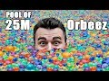 25 Million Orbeez In A Pool Do You Sink Or Float