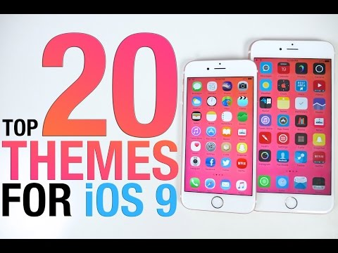 Top 20 iOS 9 Themes - BEST 9.0.2 Themes from Cydia