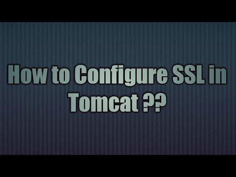 12.Configure SSL in Tomcat | SSL Configuration for Apache Tomcat