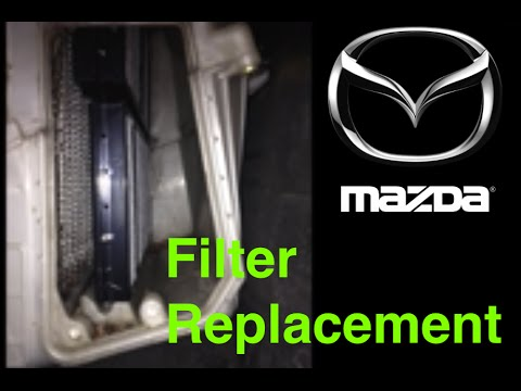Cabin Air Filter Replacement - Mazda3 - STEP-BY-STEP
