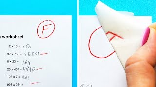 Download 32 SCHOOL HACKS YOU WISH YOU KNEW BEFORE Video