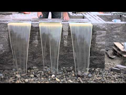Waterfall Spillways with Aquascape