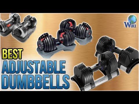7 Best Adjustable Dumbbells 2018